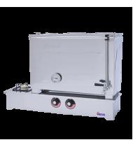 Doğalgazlı CE Belgeli Çay Ocağı 55 Litre Üç Demlikli Paslanmaz Çelik Düz Model